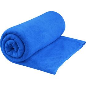 Sea to Summit Tek Handdoek XL, blauw